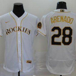 Men's Nolan Arenado Colorado Rockies Jersey
